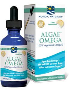 Algae omega liquid nordic naturals pro for Pro omega fish oil